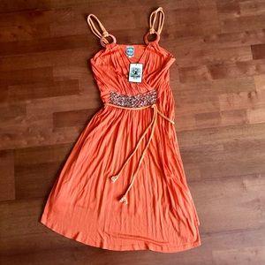 Banana USA Orange Dress